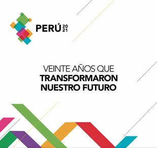 """Libro """"Perú 2021: 20 Años de compromiso con el Perú""""."""